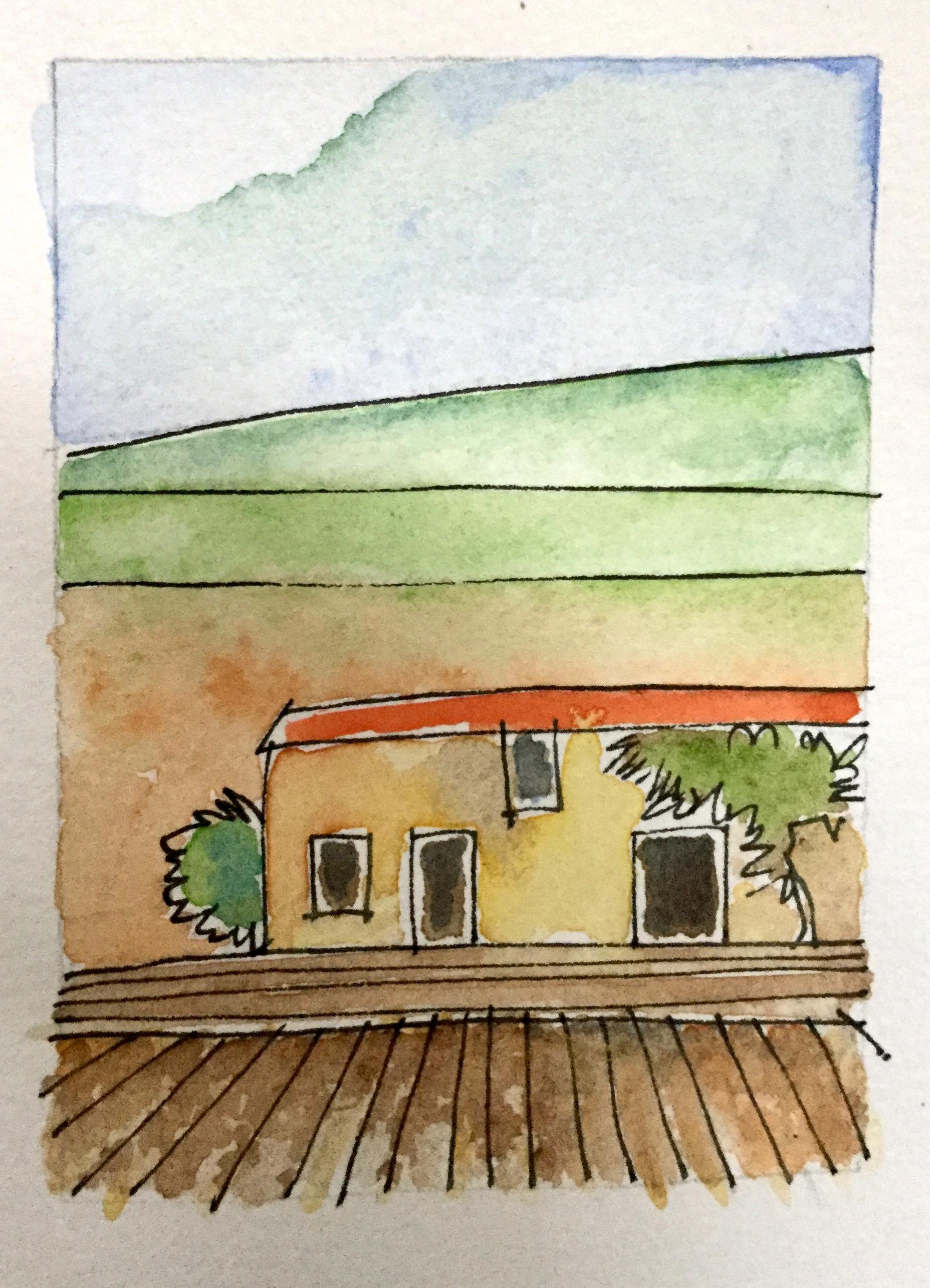 sun wall house